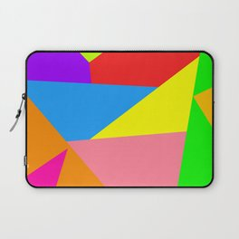 Colorful Geometric Shapes Laptop Sleeve