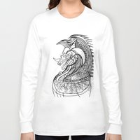 dragon Long Sleeve T-shirts featuring Dragon. by sonigque