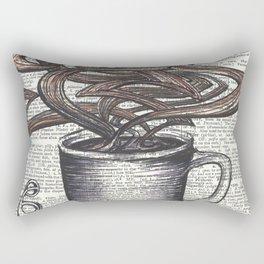 Waves of Roasted Goodness Rectangular Pillow
