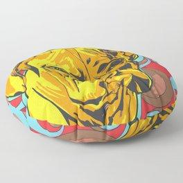 Boxer Dog Pop Art Floor Pillow