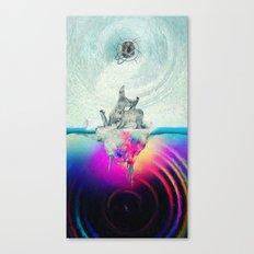 Polar Inversion Canvas Print