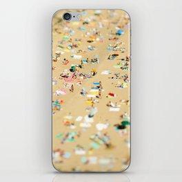 Tilt Shift Beach Photo iPhone Skin