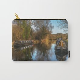 Narrow Boats At Woolhampton Carry-All Pouch