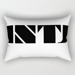 Type Type for INTJ Rectangular Pillow