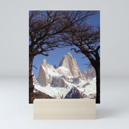 Fitz Roy Mountain Landscape (Patagonia, South America) Mini Art Print