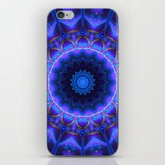 Cold Fire Mandala iPhone & iPod Skin