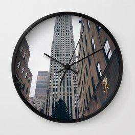 Rockefeller Center Wall Clock
