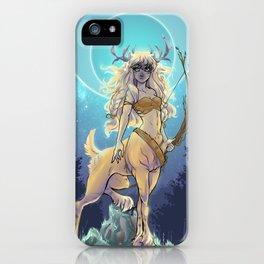 Golden Hind iPhone Case