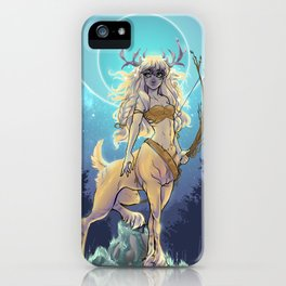 Golden Hind iPhone Case