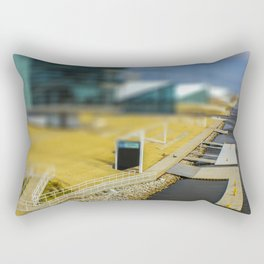 Boat Dock by Monique Ortman Rectangular Pillow