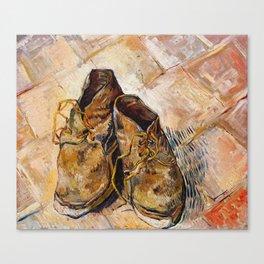 Shoes by Vincent Van Gogh Canvas Print