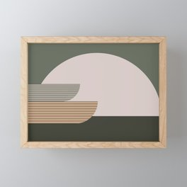 Abstract Composition 16 Framed Mini Art Print