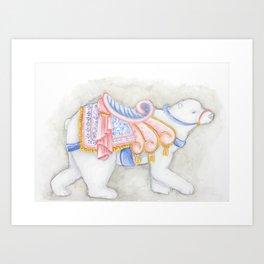Fantasy Bear Art Print