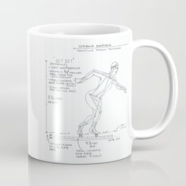 Get Set Drawing, Transitions through Triathlon Coffee Mug
