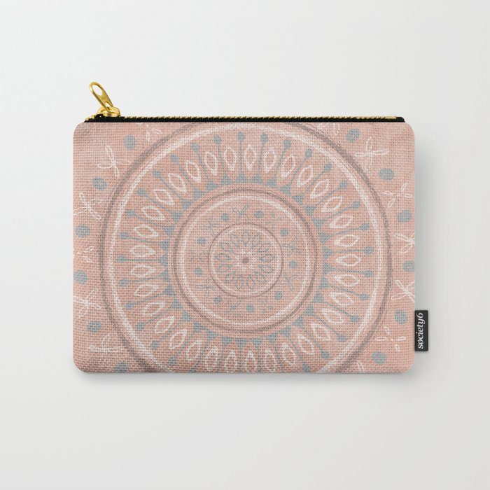 """""""Astral Lullaby"""" in Pink Carry-All Pouch"""