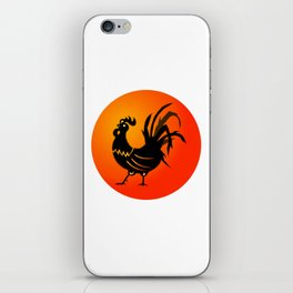 Year of the Rooster Icon iPhone Skin
