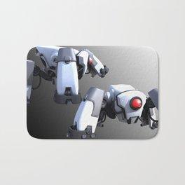 Small Sentry Robot Bath Mat