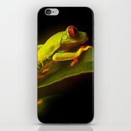 TREE FROG iPhone Skin