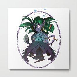 My Other Mermaid Metal Print
