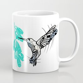 Hummingbird geometric Coffee Mug