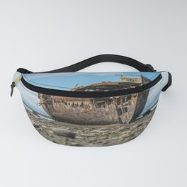 Shipwreck on a Rocky Shore Fanny Pack