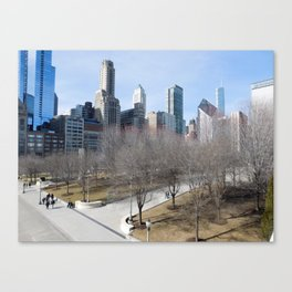 Toy story Chicago Canvas Print