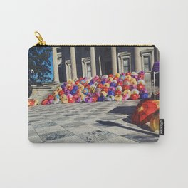 Umbrella Flowers Carry-All Pouch