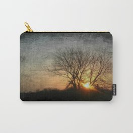 perfect suburban sunrise.    first series: dark before dawn 2-3 Carry-All Pouch