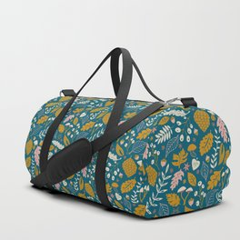 Fall Folige in Blue and Gold Duffle Bag