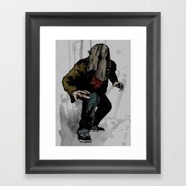 Vigilante #6 Framed Art Print