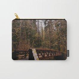 Silver Falls Trail Bridge Carry-All Pouch