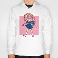 magical girl Hoodies featuring Salty Magical Girl by eriphyle