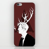 true detective iPhone & iPod Skins featuring True Detective by Burcu Aycan