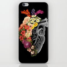 Flower Heart Spring iPhone & iPod Skin