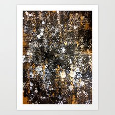 Black Gold Art Print
