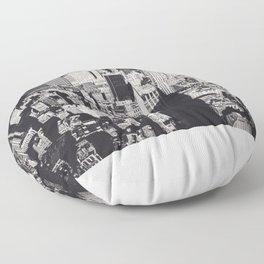 Empire's Shadow Floor Pillow