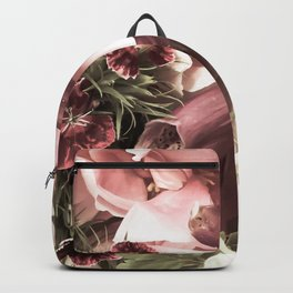 Peony Bouquet Backpack