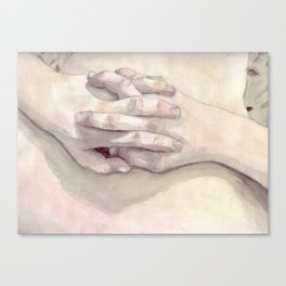 Lucas' Hands Canvas Print