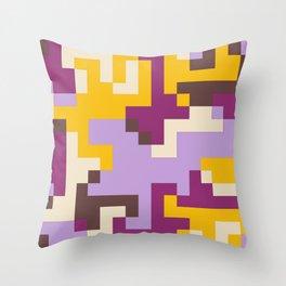 pixel 002 04 Throw Pillow