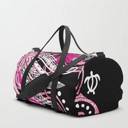 Pink Hawaii Tribal Threads Duffle Bag