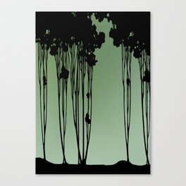 Forest Silhouette by Seasons K Designs Canvas Print