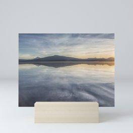 Sunset at Agency Lake, No. 1 Mini Art Print