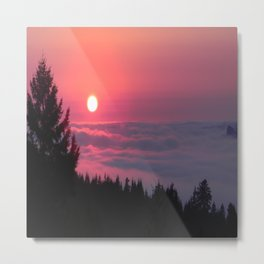 The end of another peaceful day.... Metal Print