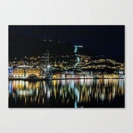 City of Bergen, Norway Canvas Print
