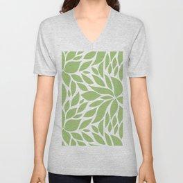 Bloom - Olive Unisex V-Neck