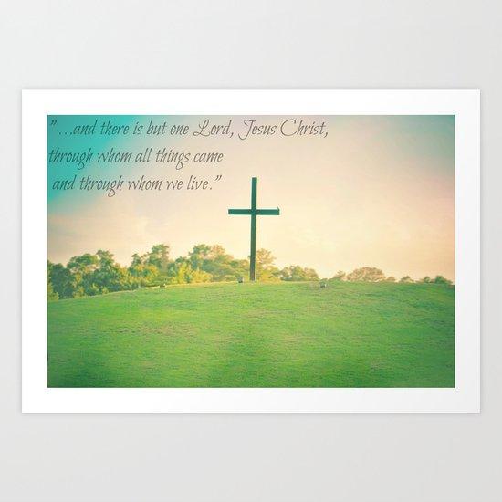 1 Corinthians. Art Print