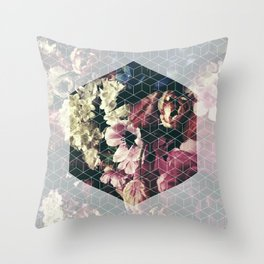 Spring Geometry Throw Pillow