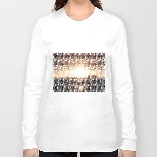 Type of Sunset Long Sleeve T-shirt