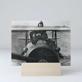Eddie Rickenbacker - World War One - 1918 Mini Art Print