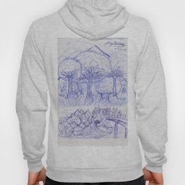Scenery and Environment Art Sketch  Hoody